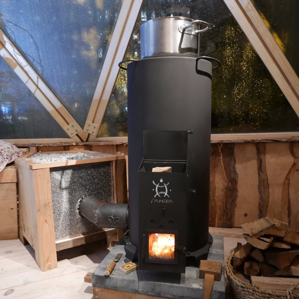 for How to build a rocket stove water heater